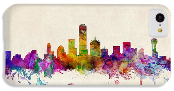 Dallas Texas Skyline IPhone 5c Case