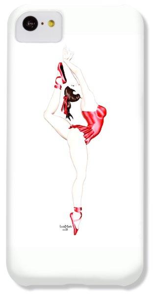 Luxmaris iPhone 5c Case - Dancer by Renate Janssen
