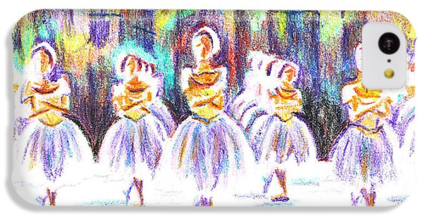 Dancers In The Forest II IPhone 5c Case by Kip DeVore