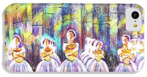 Dancers In The Forest IPhone 5c Case by Kip DeVore