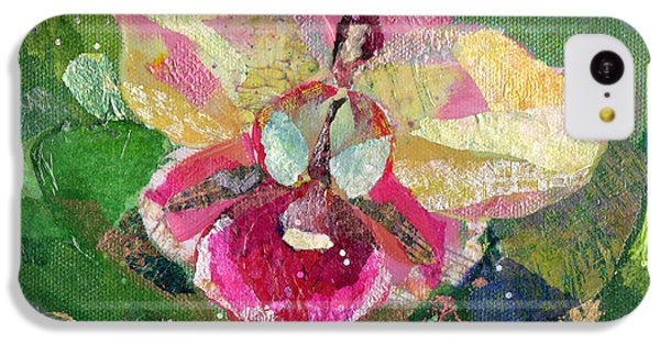 Dancing Orchid I IPhone 5c Case by Shadia Derbyshire