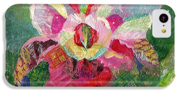 Dancing Orchid II IPhone 5c Case by Shadia Derbyshire