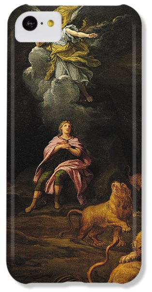 Dungeon iPhone 5c Case - Daniel In The Den Of Lions Oil On Canvas by Francois Verdier