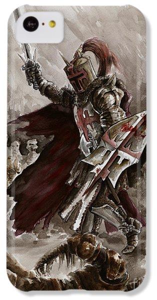 Dungeon iPhone 5c Case - Dark Crusader by Mariusz Szmerdt