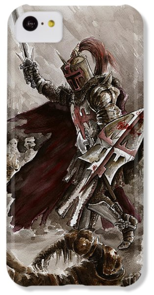 Dark Crusader IPhone 5c Case by Mariusz Szmerdt