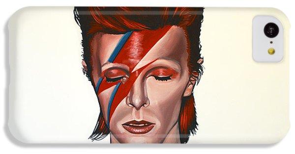 The iPhone 5c Case - David Bowie Aladdin Sane by Paul Meijering