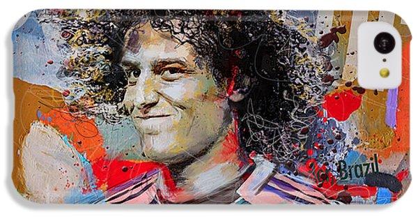 David Luiz IPhone 5c Case by Corporate Art Task Force