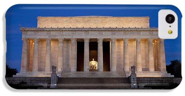 Lincoln Memorial iPhone 5c Case - Dawn At Lincoln Memorial by Brian Jannsen