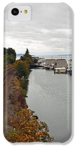 Day Island Bridge View 2 IPhone 5c Case by Anthony Baatz