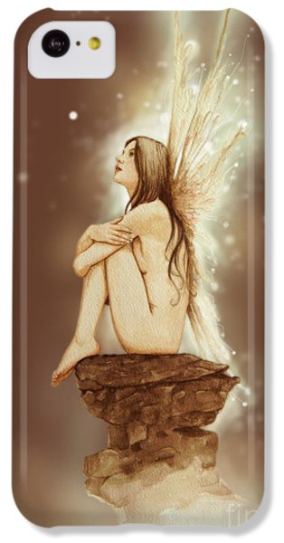 Fantasy iPhone 5c Case - Daydreaming Faerie by John Silver