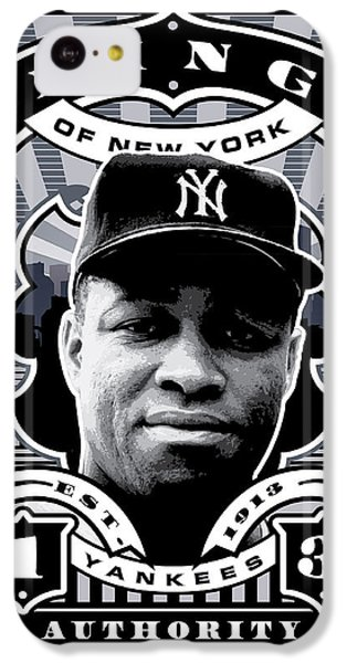Dcla Elston Howard Kings Of New York Stamp Artwork IPhone 5c Case by David Cook Los Angeles