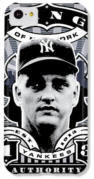 Dcla Roger Maris Kings Of New York Stamp Artwork IPhone 5c Case by David Cook Los Angeles