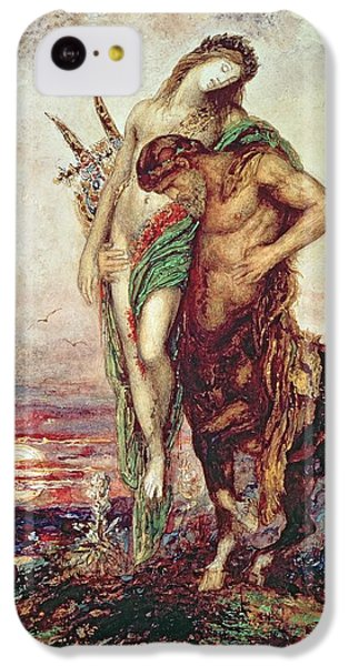 Dead Poet Borne By Centaur IPhone 5c Case by Gustave Moreau