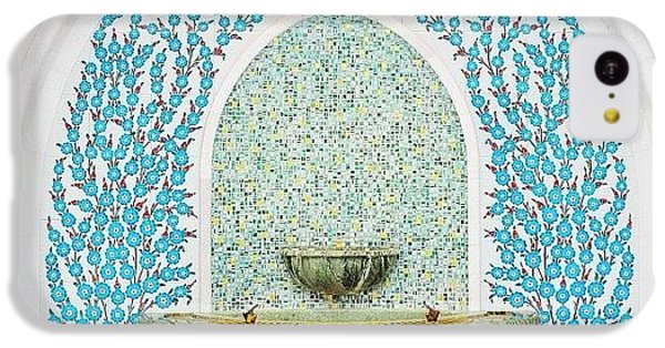#decorative #wallceramic #grandmosque IPhone 5c Case by Devi Gunawan