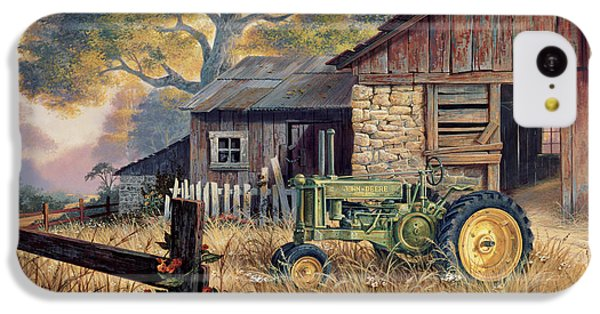 Landscape iPhone 5c Case - Deere Country by Michael Humphries