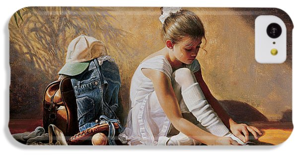Denim To Lace IPhone 5c Case by Greg Olsen