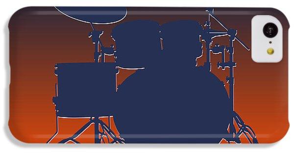 Denver Broncos Drum Set IPhone 5c Case by Joe Hamilton