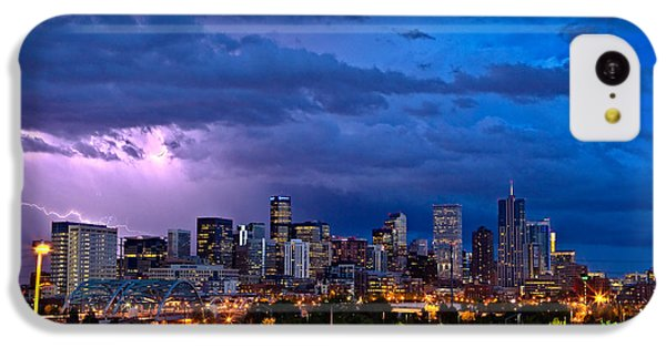 Denver Skyline IPhone 5c Case