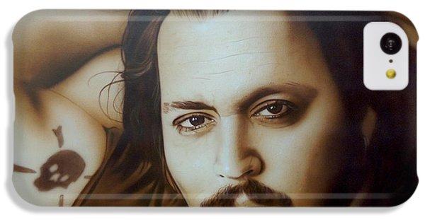 Johnny Depp - ' Depp II ' IPhone 5c Case