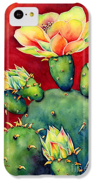 Universities iPhone 5c Case - Desert Bloom by Hailey E Herrera