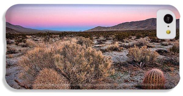 Desert iPhone 5c Case - Desert Twilight by Peter Tellone