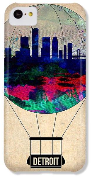 Detroit Air Balloon IPhone 5c Case by Naxart Studio