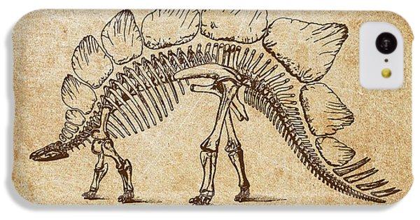 Dinosaur Stegosaurus Ungulatus IPhone 5c Case