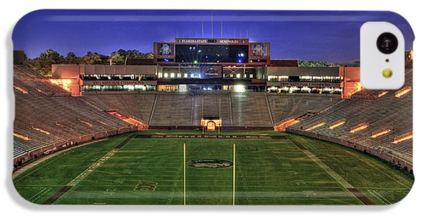 Doak Campbell Stadium IPhone 5c Case by Alex Owen