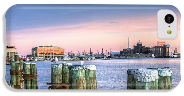 Dockside IPhone 5c Case by JC Findley