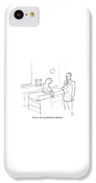 Doctor iPhone 5c Case - Doctor To Pig by Paul Noth