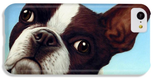 Dog-nature 4 IPhone 5c Case by James W Johnson