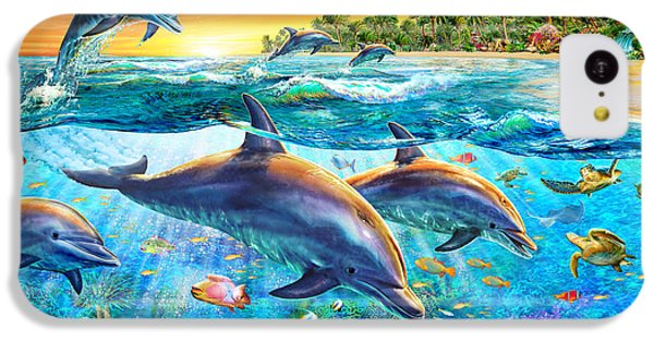 Dolphin Bay IPhone 5c Case