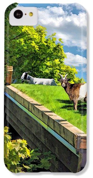 Door County Al Johnsons Swedish Restaurant Goats IPhone 5c Case