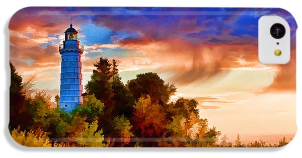 Door County Cana Island Wisp IPhone 5c Case by Christopher Arndt