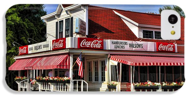 Door County Wilson's Ice Cream Store IPhone 5c Case by Christopher Arndt