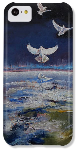 Doves IPhone 5c Case by Michael Creese