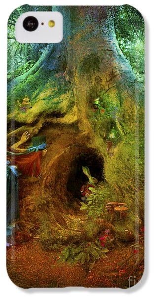 Down The Rabbit Hole IPhone 5c Case by Aimee Stewart