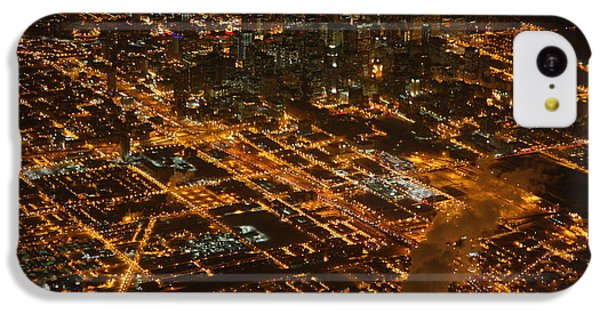 IPhone 5c Case featuring the photograph Downtown Chicago At Night by Nathan Rupert