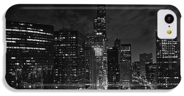 Downtown Chicago At Night IPhone 5c Case