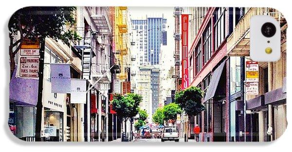 Architecture iPhone 5c Case - Downtown by Julie Gebhardt