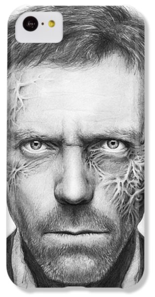 Dr. Gregory House - House Md IPhone 5c Case by Olga Shvartsur