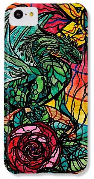 Dragon iPhone 5c Case - Dragon by Teal Eye  Print Store