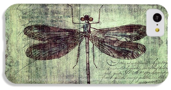 Dragonfly IPhone 5c Case by Priska Wettstein