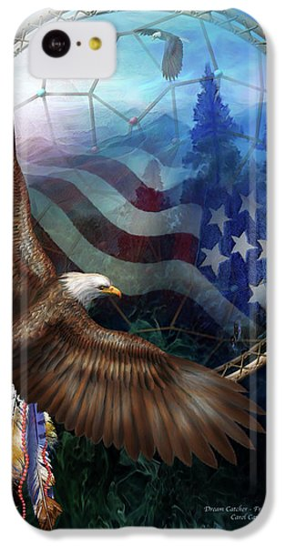 Dream Catcher - Freedom's Flight IPhone 5c Case
