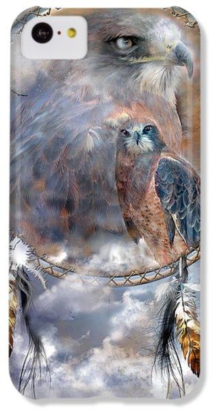 Dream Catcher - Hawk Spirit IPhone 5c Case