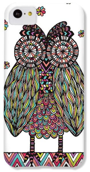 Dream Owl IPhone 5c Case by Susan Claire