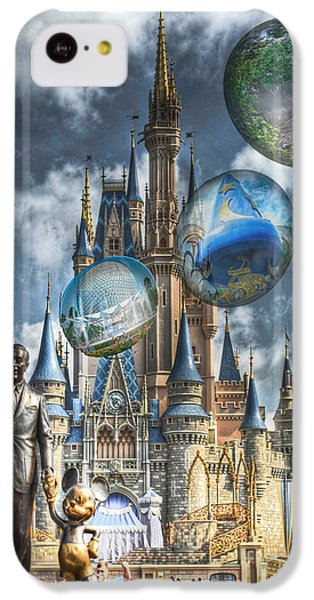 online retailer 2c549 dc6bb Walt Disney World iPhone 5C Cases   Fine Art America