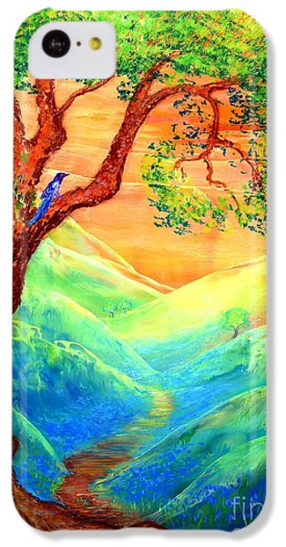 Dreaming Of Bluebells IPhone 5c Case by Jane Small