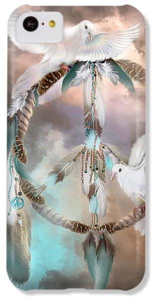 Dreams Of Peace IPhone 5c Case by Carol Cavalaris
