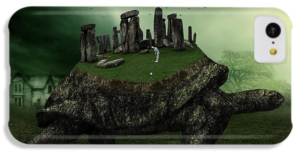 Druid Golf IPhone 5c Case by Marian Voicu